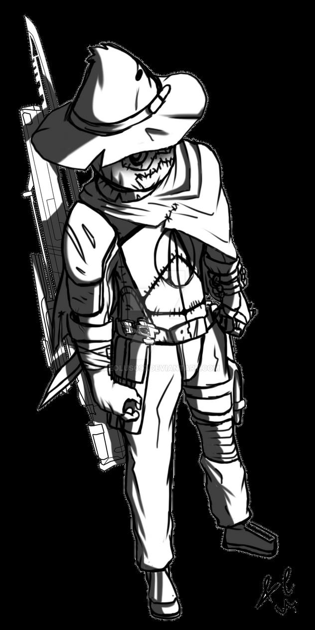 The Scarerakk [Borderlands original Vault Hunter] by Aeolus097