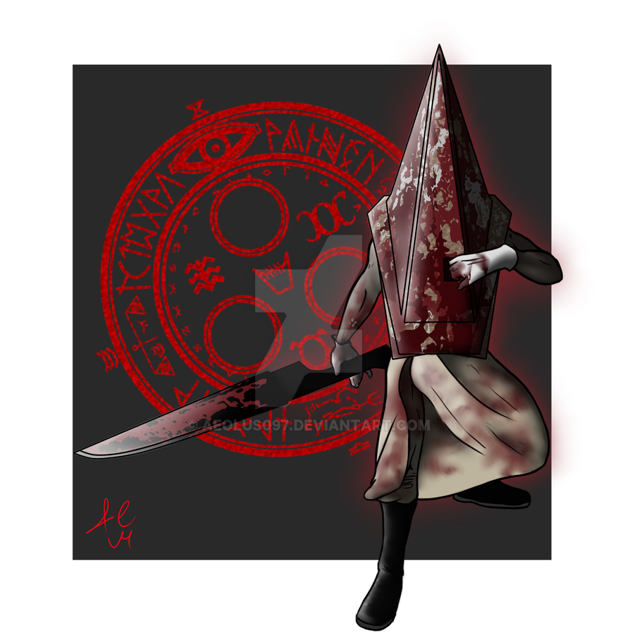 The Red Pyramid Thing by Aeolus097