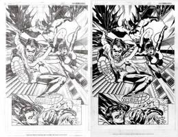Derenick Batman Pencils Inks by Splotchy77