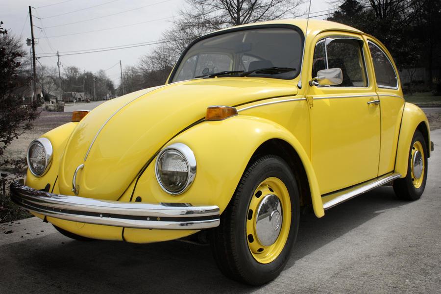 1970 Yellow Volkswagen Beetle by lividmonkey on DeviantArt