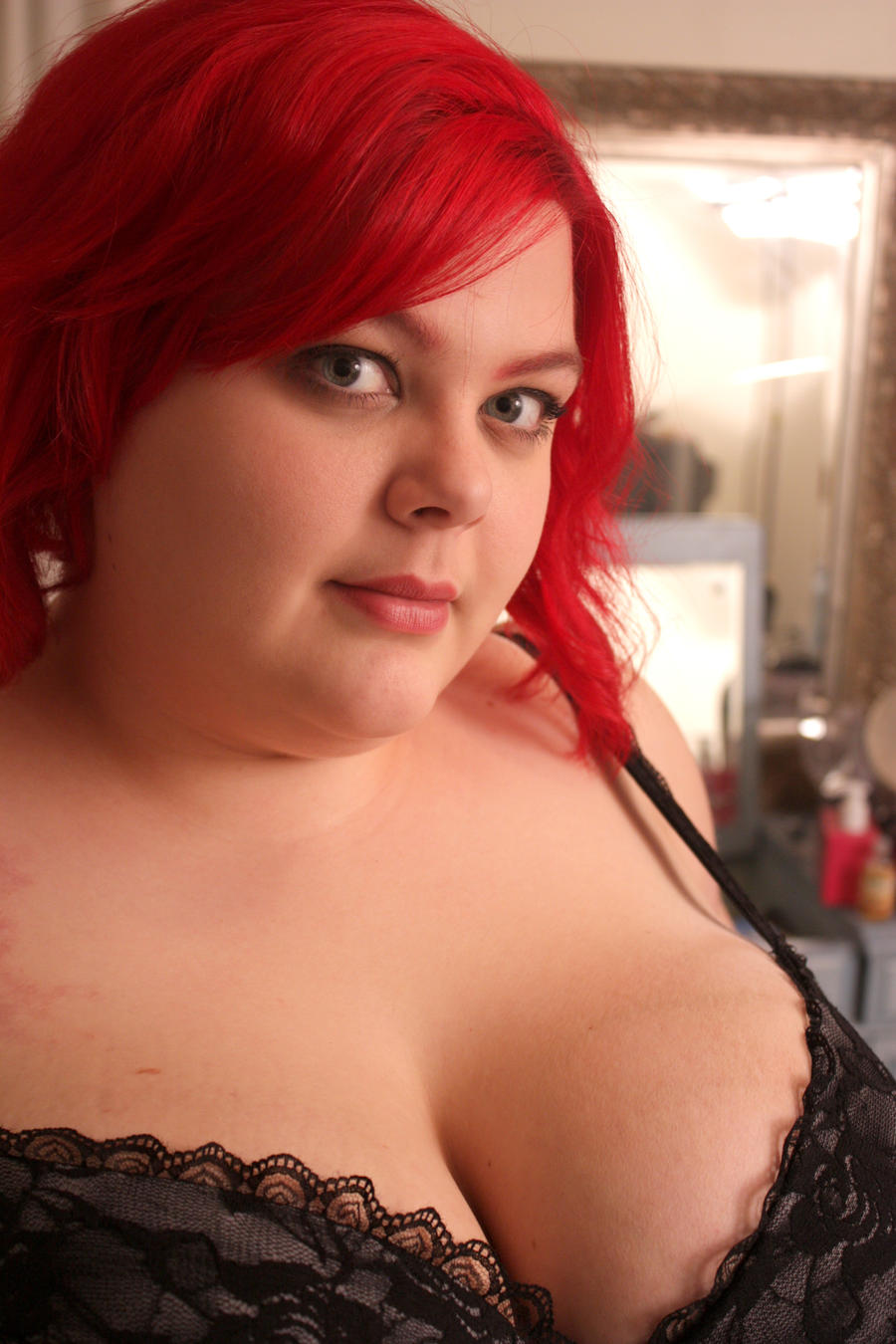 Nice redhead mature