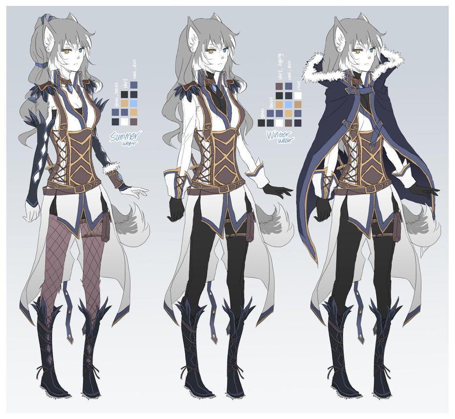 con: Suki's clothes by leinwizard