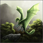 Another green dragon