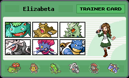 Elizabeta Trainer Card by PanHandling