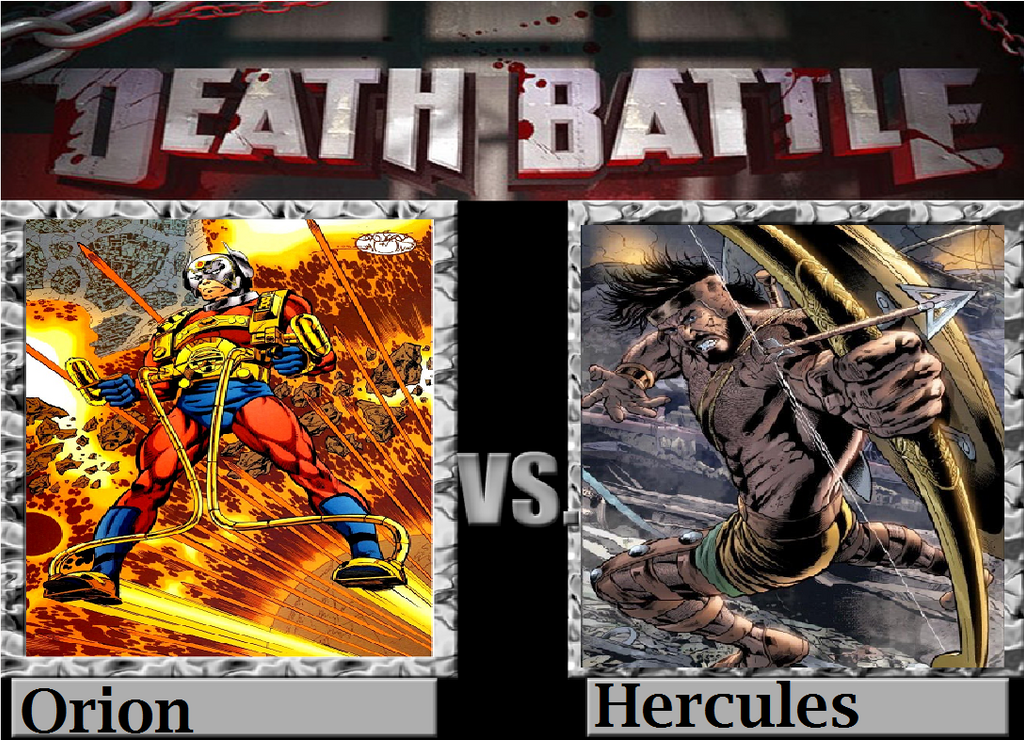 Orion vs Hercules by TheWickedAvatar1 on DeviantArt