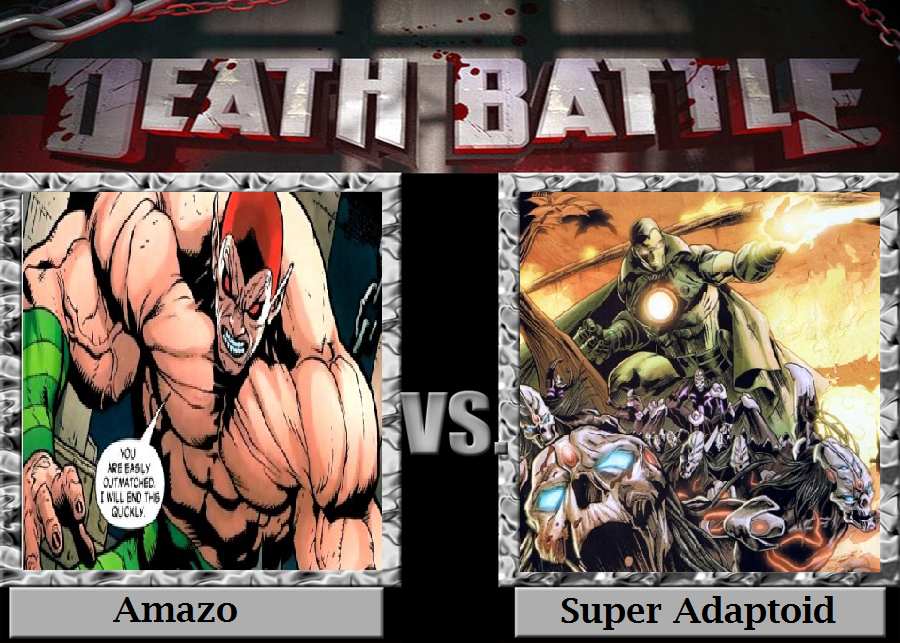 Copy and Paste: Amazo vs Super Adaptoid by TheWickedAvatar1 on