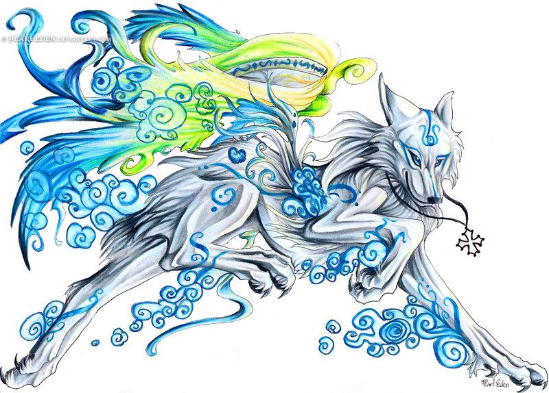 Wind Okami by Exileden