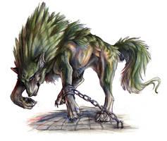 Twili Wolf by Exileden