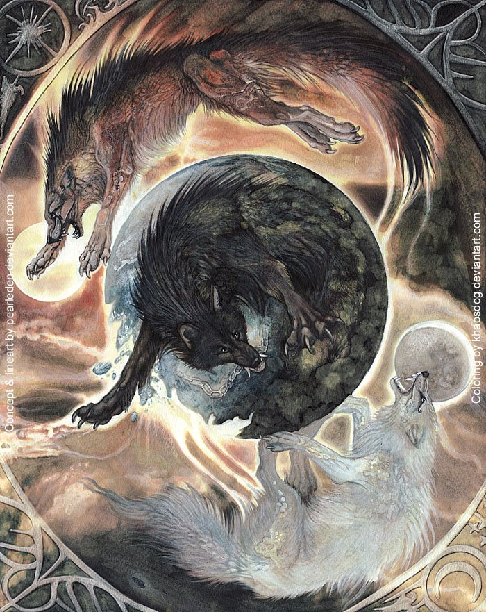 Ragnarok I by `PearlEden
