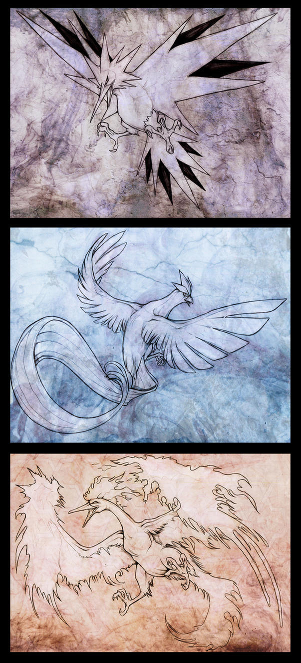 Legendary Birds by Exileden