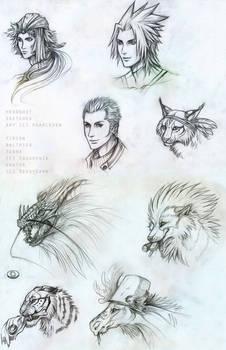 Sketches batch 2
