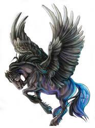 Dark Steed by Exileden