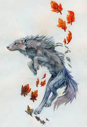 Skyward Wolf
