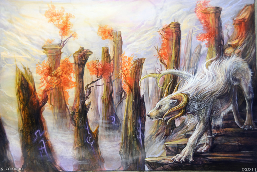 Encountering the Shadow Runes by Exileden