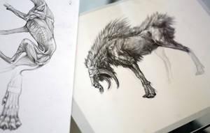 Creature Art by Exileden