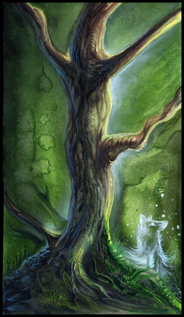 Spiritual tree by Exileden