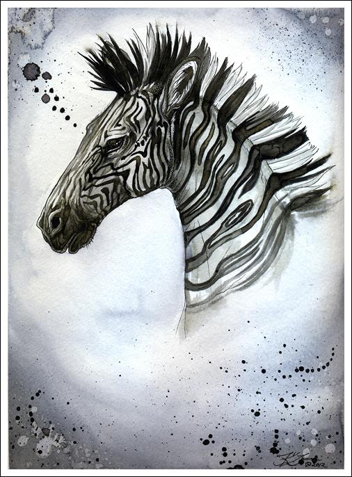 Zebra by Exileden