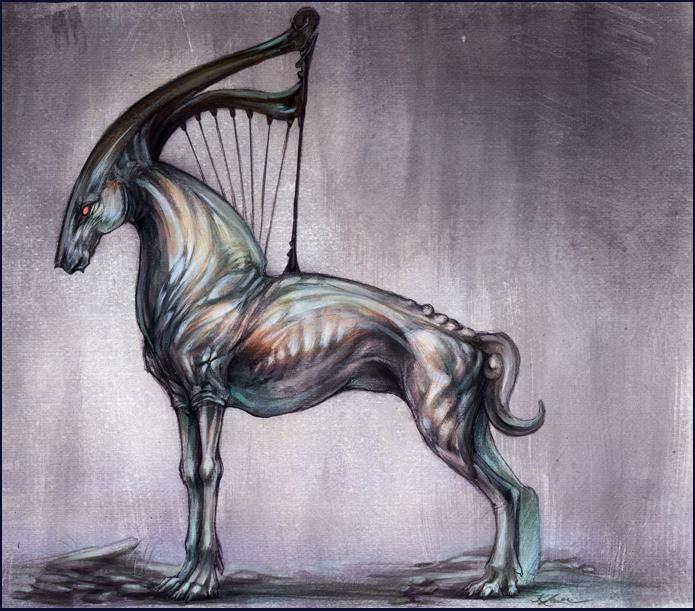 Creature Design Xol by Exileden