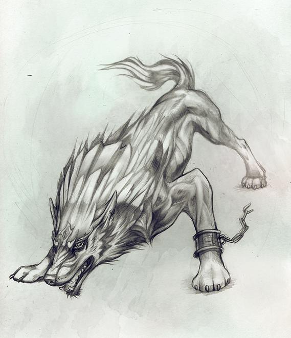 Link in Beast Form by Exileden