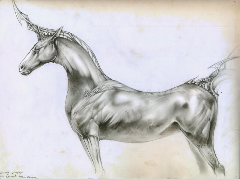 Strange Horse by Exileden