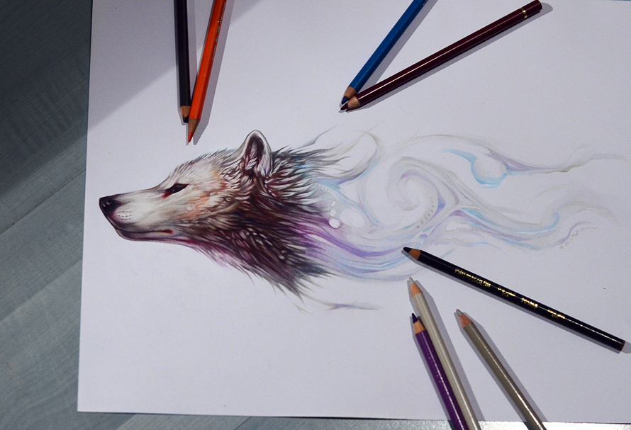 Greenlandic Dog by Exileden