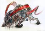Mythic Himalayan Creature Design
