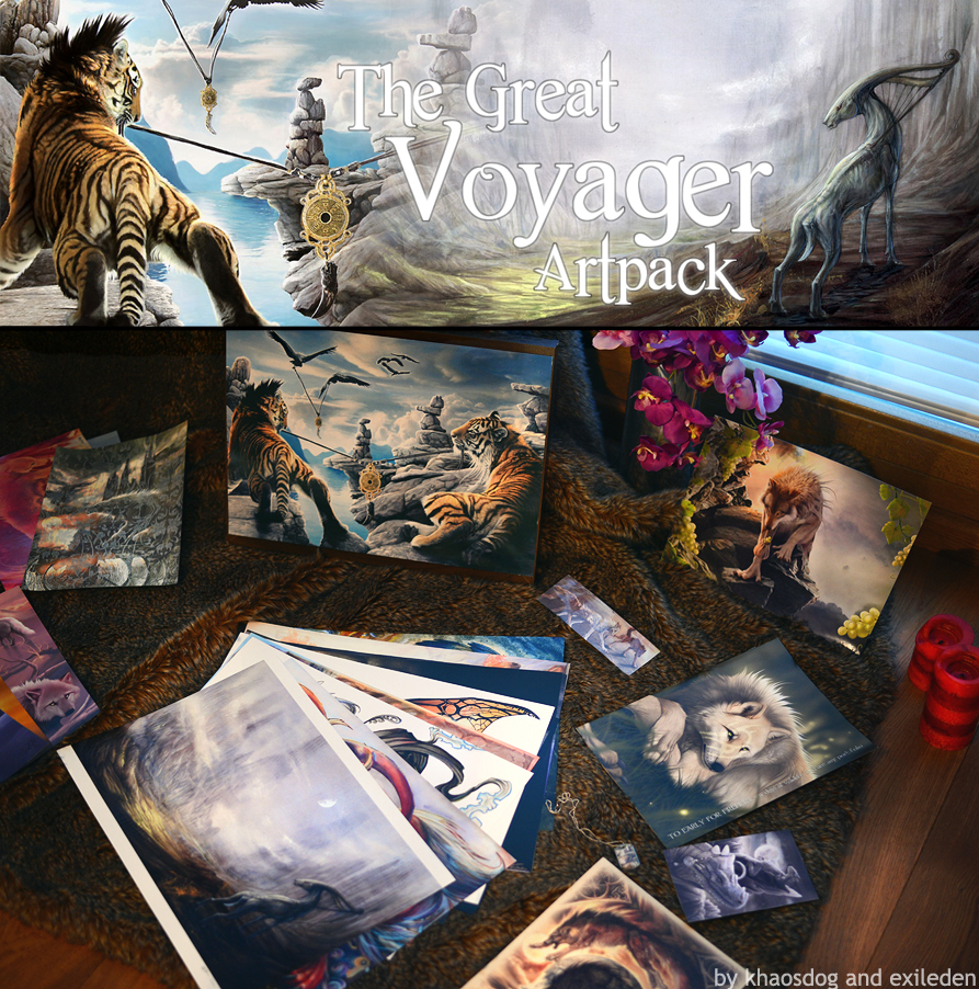 Voyager Artpack Auction by Exileden