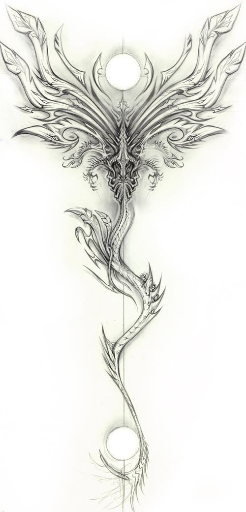 Draconic Design by Exileden