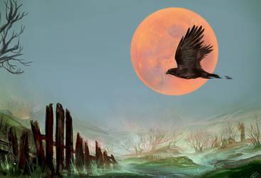 Harvest Moon by Exileden
