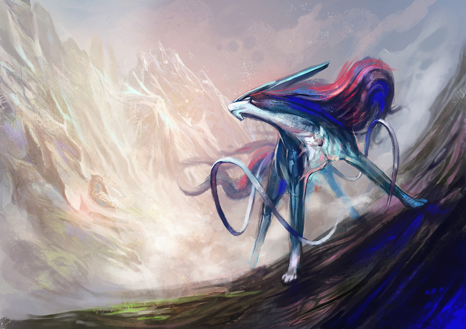 Suicune by Exileden