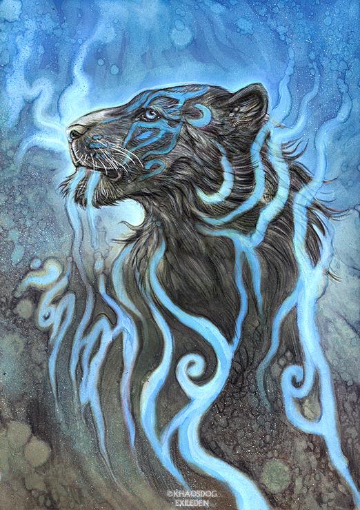 Ghost Tiger by Exileden