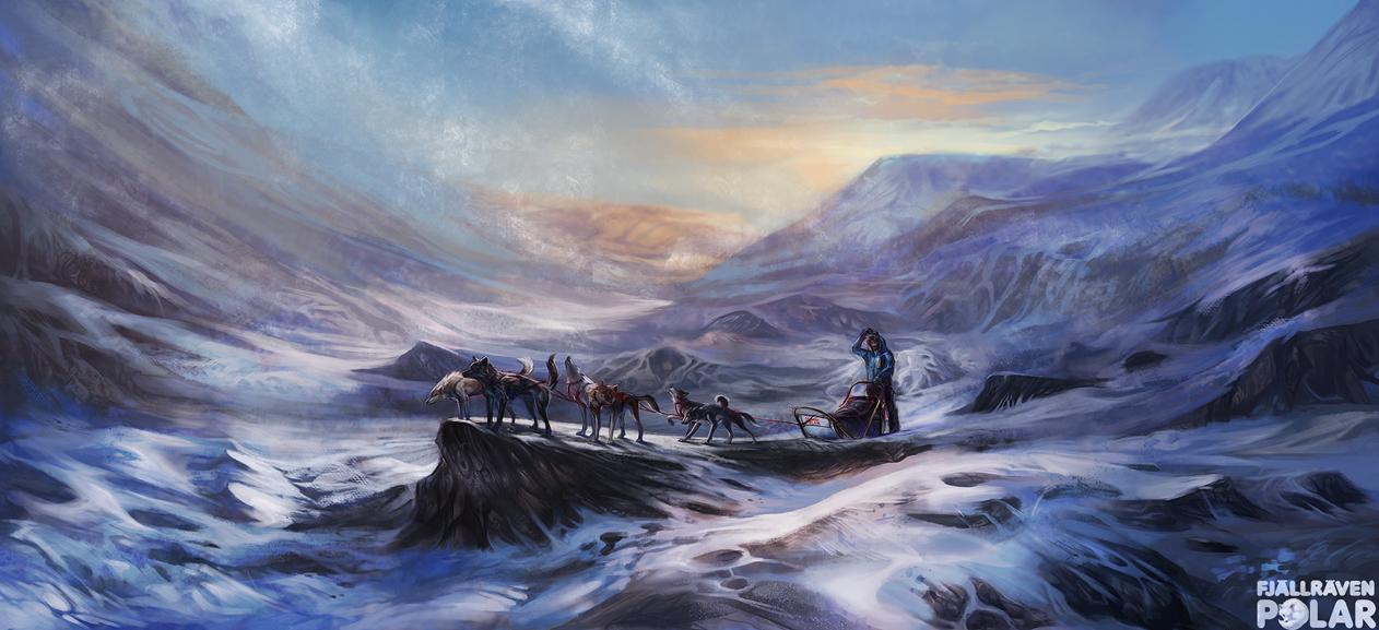 The Polar Expedition by Exileden