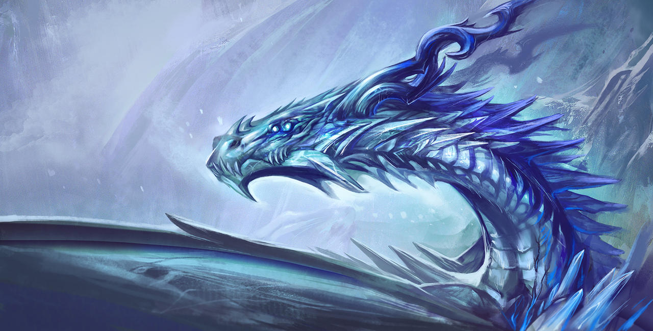 ice dragons drawings blue ice dragon by brokenrapture781 on