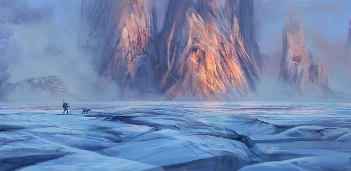 Northeast Greenland by Exileden