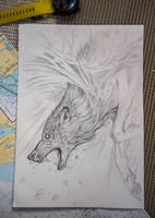 Sea Wolf by Exileden