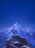 Mount Everest by Exileden