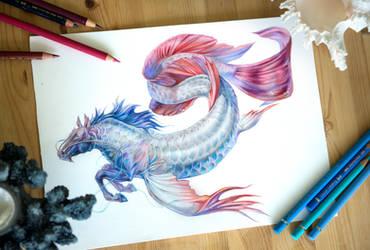 Arowana Hipocampus by Exileden