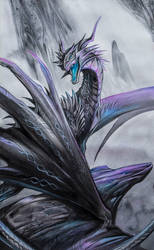 Black Dragon by Exileden