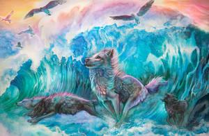 Wolves of The Ocean by Exileden