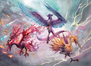 Galarian Legendary Birds