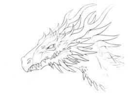 Dragon Challenge - FREE lineart!