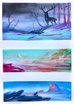 Watercolour Speedpaints