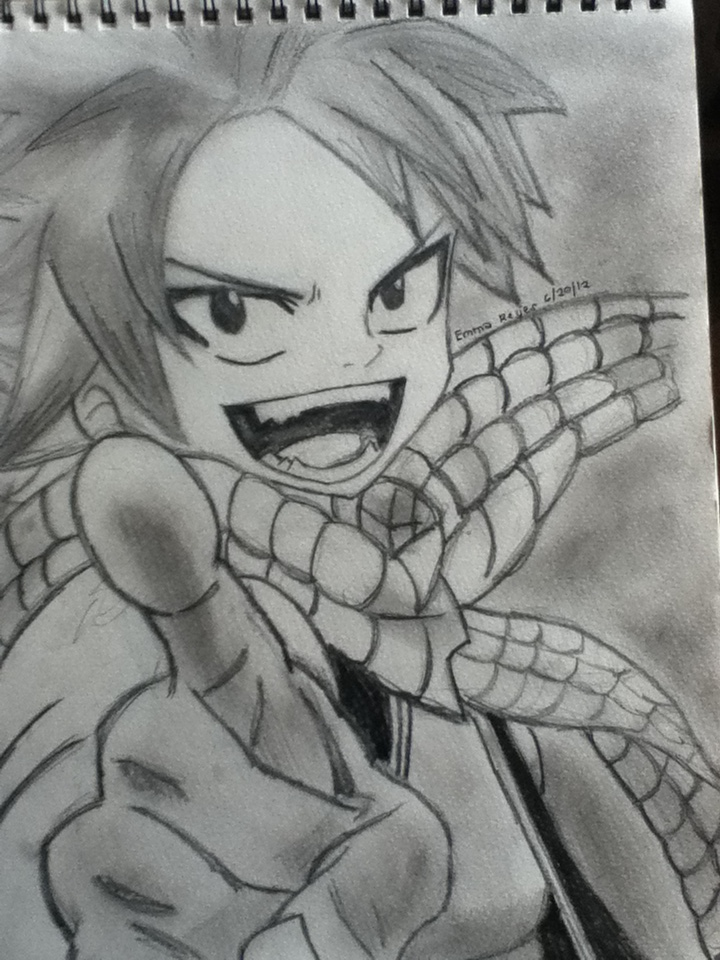 Natsu Dragneel the Fire Dragon Slayer by nEpHiLimLoVeR