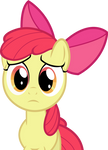 Sad Applebloom