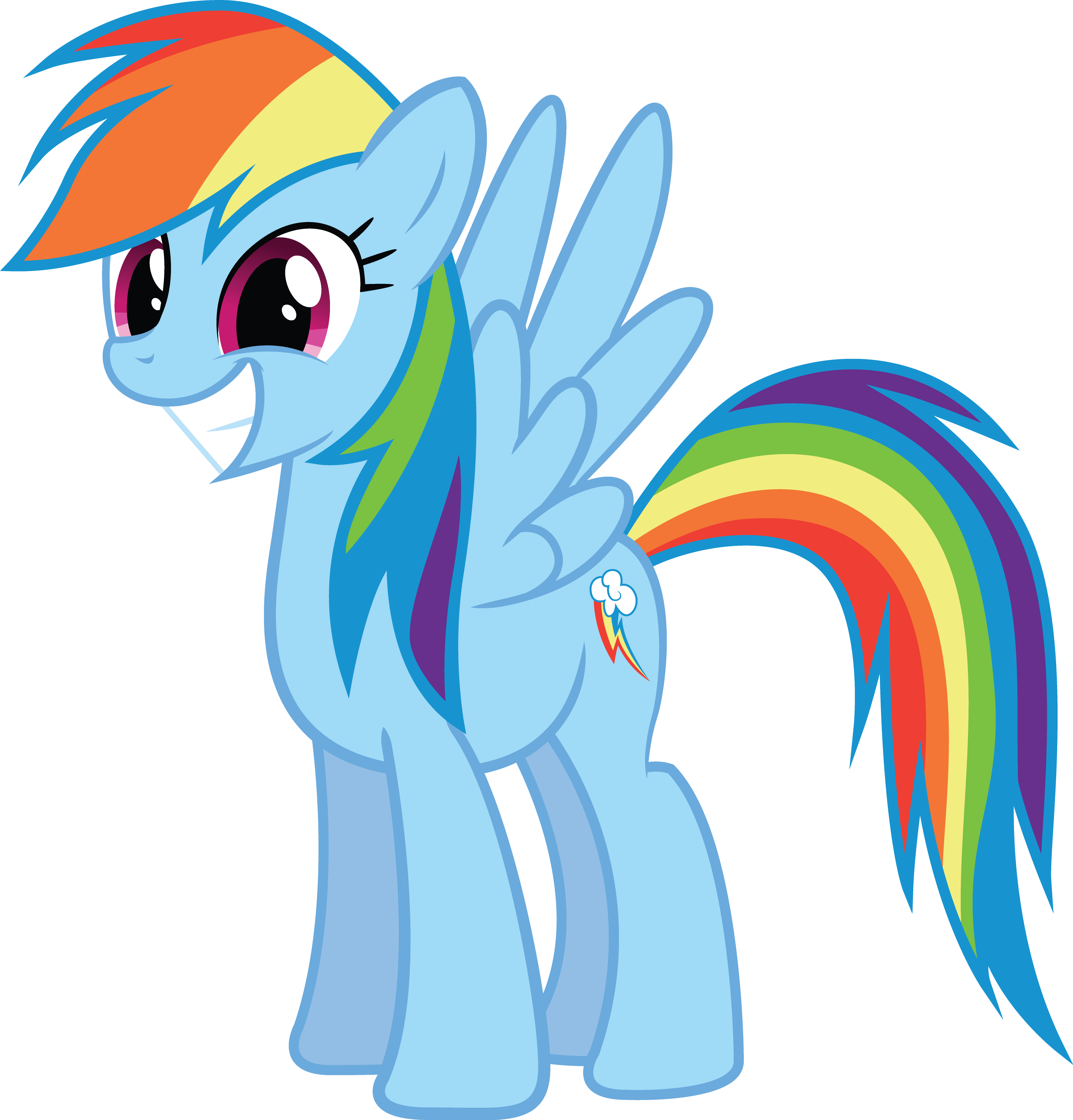 Beautiful Wallpaper Horse Deviantart - rainbow_dash_by_the_crusius-d5h7k4b  Perfect Image Reference_28643.png