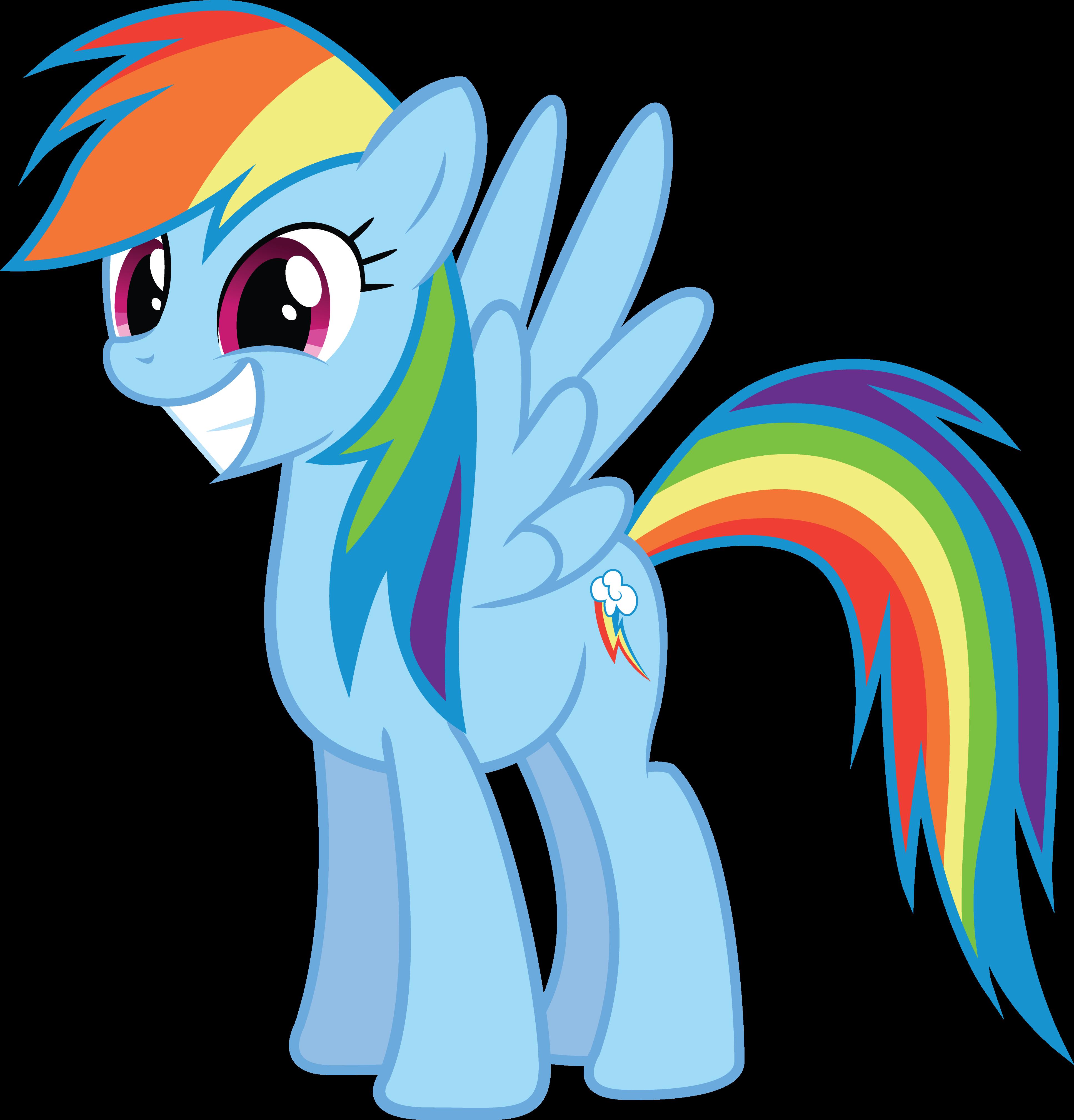 Rainbow Dash Png My Little Stori...