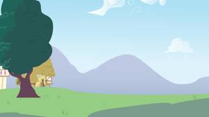 Ponyville Outskirts Background