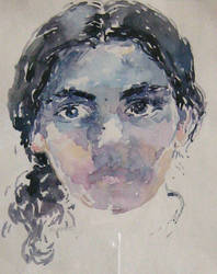 self portrait by kalinatoneva