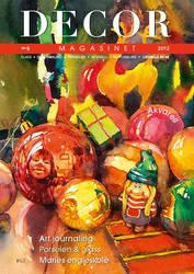 Cover DECOR magasinet , Norwegian magazine by kalinatoneva
