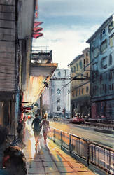 Alabin street by kalinatoneva